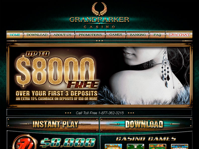 Grand Parker Online Casino for US players