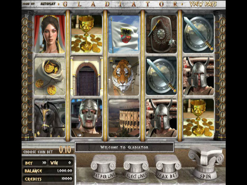 Briefly About Gladiator Slots