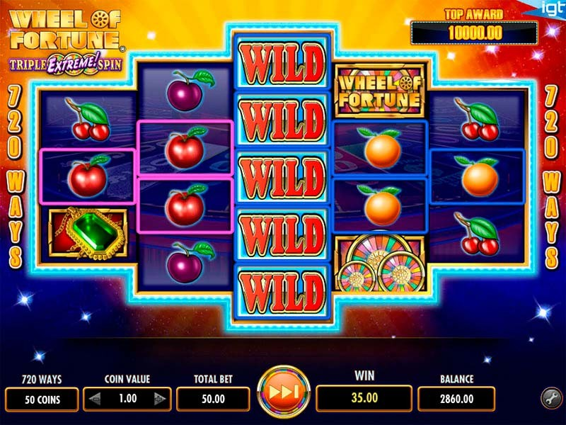 Try Wheel of Fortune Slot Machine Now