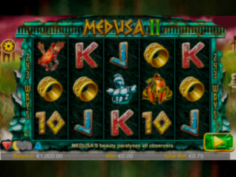 Medusa II – Online Slot Machine Game
